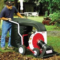 Garden vacuum cleaners